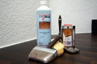 Frühlingserwachen Set: HABiol UV 500ml, Profi Grundreiniger, Profi-Pinselset und Reinigungsbürste