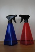 Spray bottle Set - blue and red - 500ml