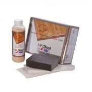 HABiol UV-Schutz Holzpflegeöl Pflegeset Holzschutz für Innen und Außen