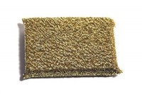 Special cleaning sponge, gold
